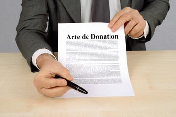 Avocat Stéphanie Vignollet : donation à Bordeaux